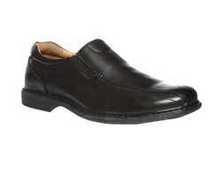 Black Hush Puppies Formal Shoes For Men