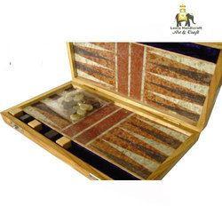 Stone Backgammon Game
