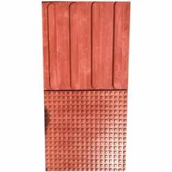 Cement Square Red Ramp Tile, Outdoor, for Floor