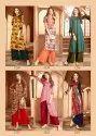 Fancy Look Rayon Printed Stylish Kurtis With Palazzo Set