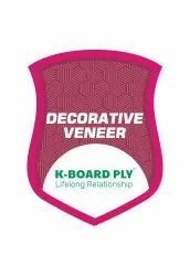 Brown First Class Decorative Veneer, Thickness: 4MM
