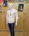 Satin Printed Cotton Fabric Slim Fit