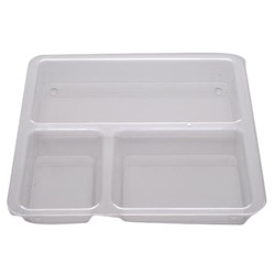 Transparent Lunch Thali