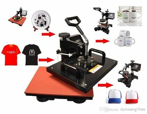 5d18062b Multicolor T Shirt Printing Machine, Capacity: 50-100 Pieces/hour ...