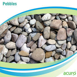 Off White Pebbles, for Water Treatment