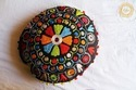Embroidery Round Cushion Cover