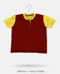 Cotton Plain Trendy Sports T-Shirt