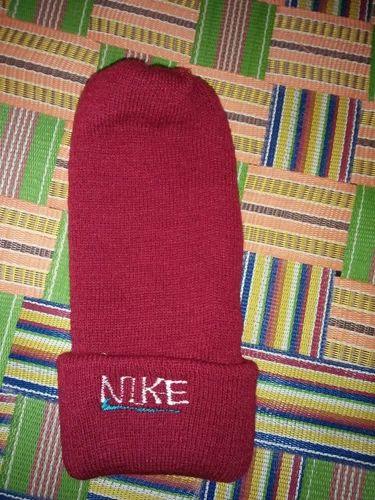 Maroon Nike Woolen Winter Cap a55bd7650fb