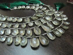 Green Amethyst Pear Shape
