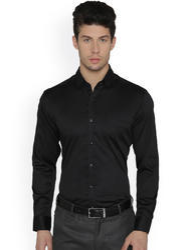 Mens Solid Full Sleeve Formal Shirts
