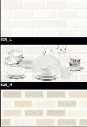 528 (L, H) Hexa Ceramic Tiles Glossy  Series