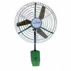 Green Wall Mounted Fan, Warranty: 2 Year