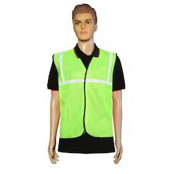 Nova Safe Reflective Safety Jacket 1 inch Cloth,65 GSM