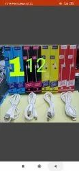 Silicon White Charging Data Cable