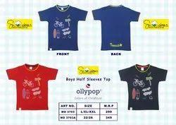 Ollypop Boys Half Sleeves T-Shirts