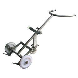 Stainless Steel Drum Trolley