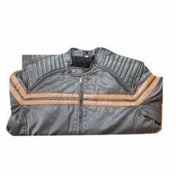 Men Leather Jacket, Packaging Type: Plastic Bag