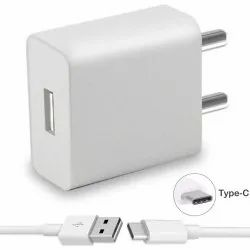 1.5 Meter White Type C Mobile Charger