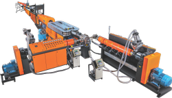 HDPE Double Wall Pipe Machine