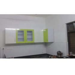 Wooden Acrylic Stylish Kitchen Cabinet