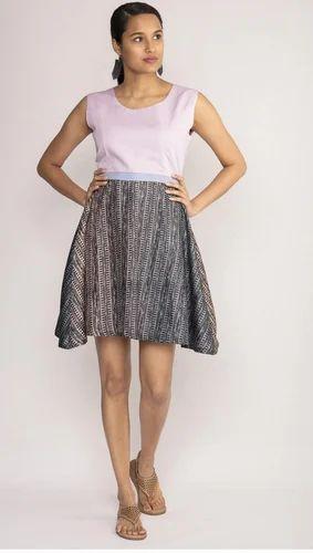 Printed The Violet Skater Dress 7c8434899