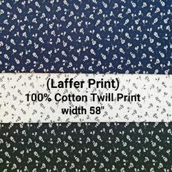 Cotton Twill Print (Laffer Print)