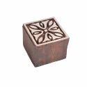 Square Shape Designer Wooden Printing Block