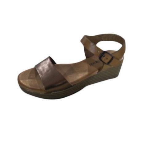 154772e02 Brown Women Ladies Party Wear Sandal