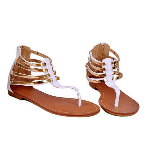 2c3013f2a Ladies Stylish Flat Sandals, Size: 36 To 41, Rs 150 /pair | ID ...
