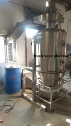 Stainless Steel Silver Lab Fluid Bed Dryer