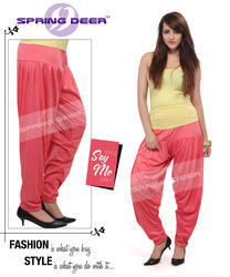 Light Peach Patiala Pant