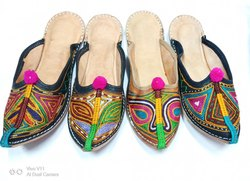 Women Rajasthani Back Open Juttis
