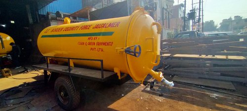 4000 Liter Sewer Suction Machine