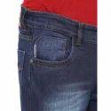 Mens Cotton Blue Jeans