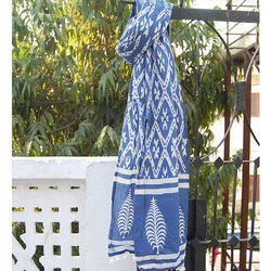 Block Printed Ladies Stole