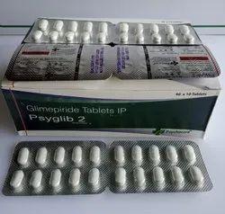 Glimepiride 2 Mg (Psyglib 2)