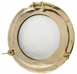 Nautical Brass Maritime Window Porthole