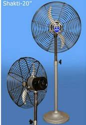 5 220 Pedestal Fan, for Industrial, Warranty: 1 Year