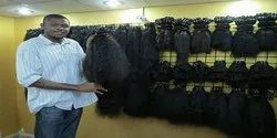 Double Weft Indian Human Silky Straight Hair King
