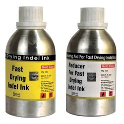 Gold Class 500 mL Fast Drying Indel Ink and Reducer Set