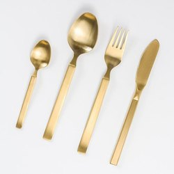Gold Plated Brass Cutlery Sets