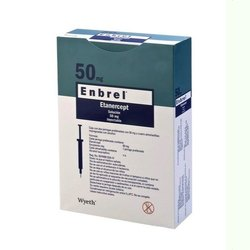 Etanercept Solution 50 mg Injectable