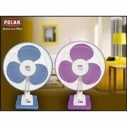 White 3 Polar Table Fan High Speed 400mm, Model Name/Number: Annexure