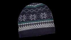 Folded Woolen Cap