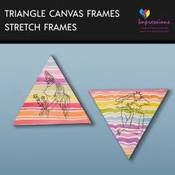 Canvas Prints With Triangle Stretch Frames