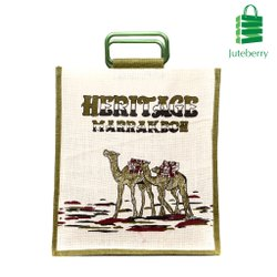 Printed Biodegradable Jute Bag