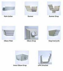 UPVC Square Rainwater Gutter System