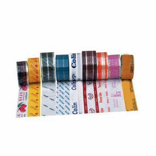 Round Printed Self Adhesive Bopp Tapes