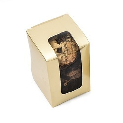 20GD Cookie Box Medium Stand-Up Golden