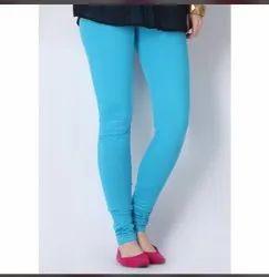 Ladies Cotton Plain Leggings
